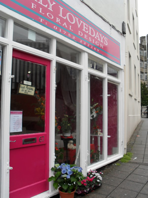 Lily Lovedays Floral Design Shop in Plymouth