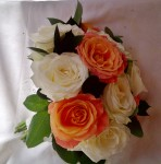 bridesmaid rose buttonhole