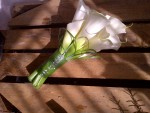calla lily bridesmaid bouquet