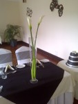 calla lily table design